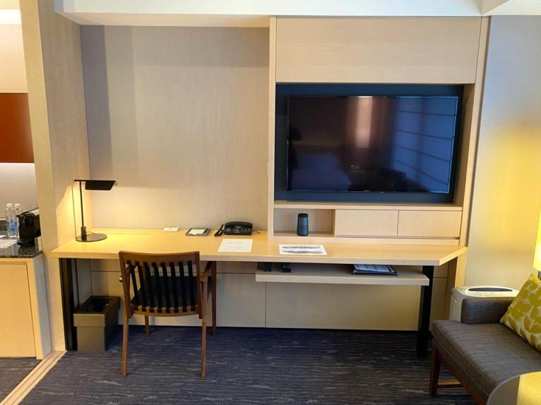 ザ・キャピトルホテル東急「客室」:TV