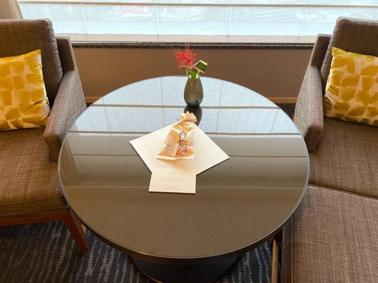 ザ・キャピトルホテル東急「客室」:ウェルカムギフト1