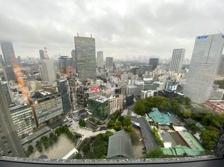 ザ・キャピトルホテル東急「客室」:眺望2
