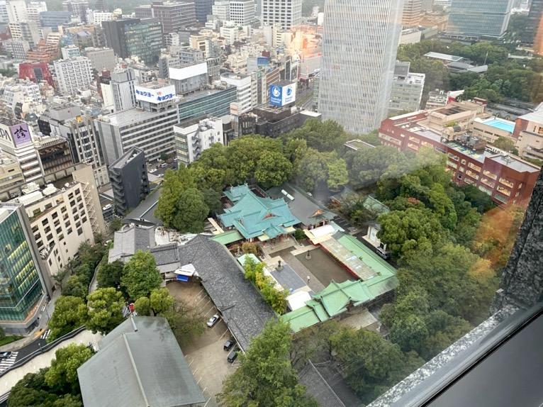 ザ・キャピトルホテル東急「客室」:眺望3
