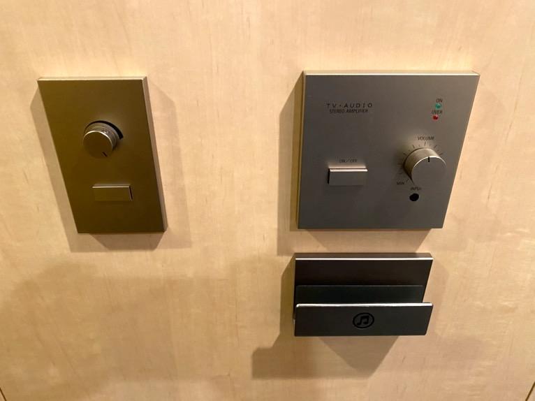ザ・キャピトルホテル東急「客室」:サウンドシステム