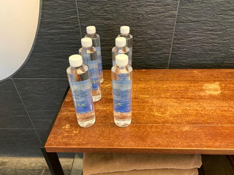 ザ・キャピトルホテル東急のプールとサウナ、ジム:水