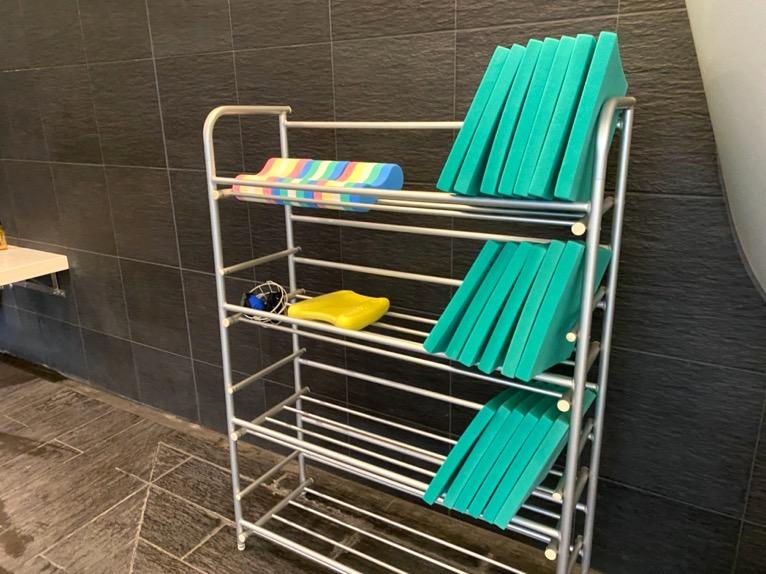 ザ・キャピトルホテル東急のプールとサウナ、ジム:貸し出し品