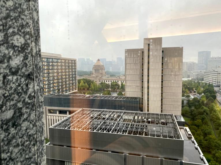 ザ・キャピトルホテル東急のプールとサウナ、ジム:眺望