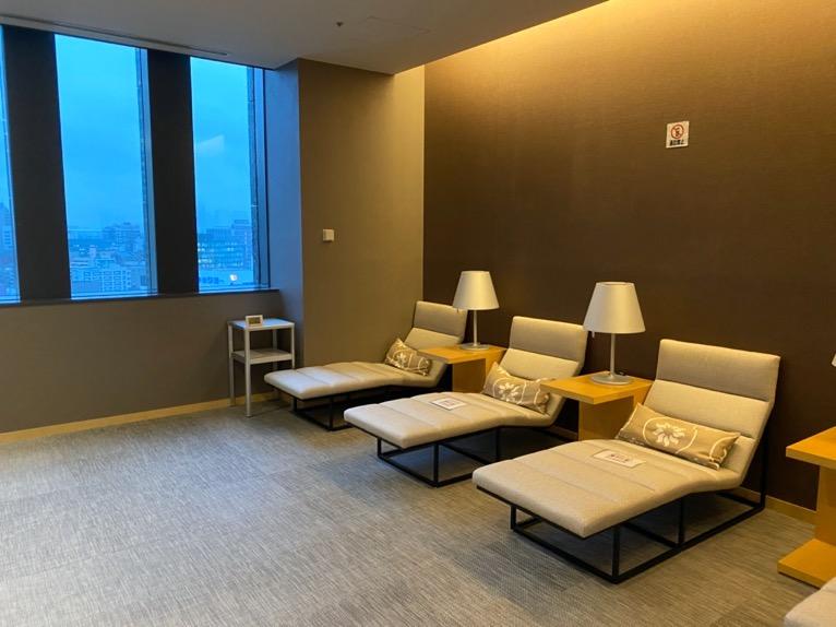 ザ・キャピトルホテル東急のプールとサウナ、ジム:リラクゼーションスペース