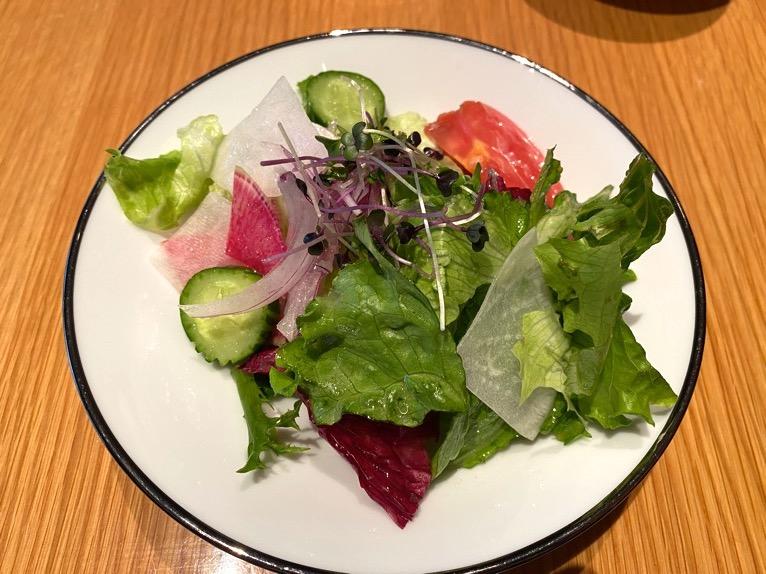 ザ・キャピトルホテル東急の朝食「洋食」:サラダ