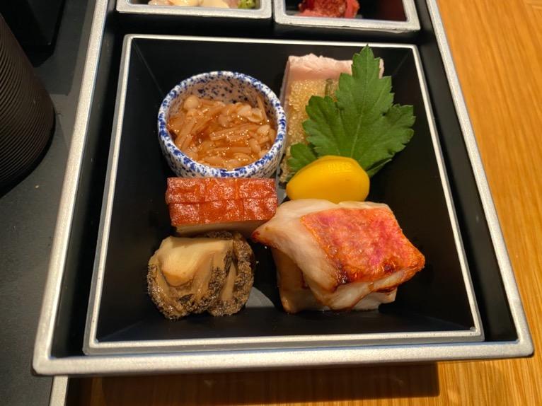 ザ・キャピトルホテル東急の朝食「和食」:小鉢1