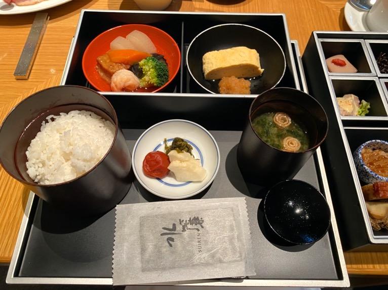 ザ・キャピトルホテル東急の朝食「和食」:全体像