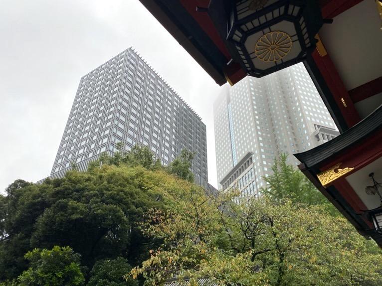 ザ・キャピトルホテル東急の外観(日枝神社)