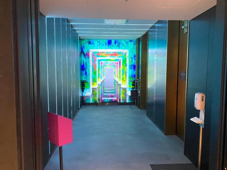 アロフト東京銀座「ロビー」:エレベーターホール1