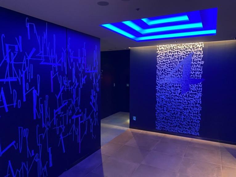 アロフト東京銀座「ロビー」:エレベーターホール2