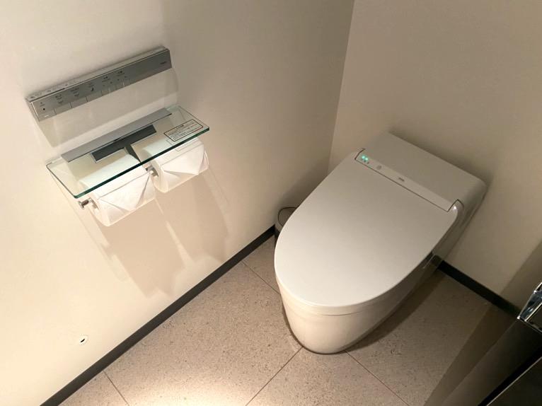 アロフト東京銀座「客室」:トイレ