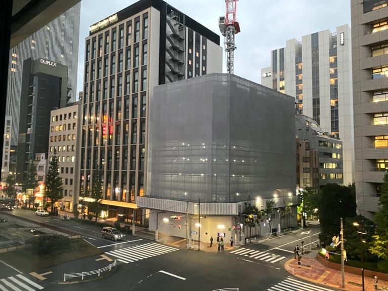 アロフト東京銀座「客室」:眺望2