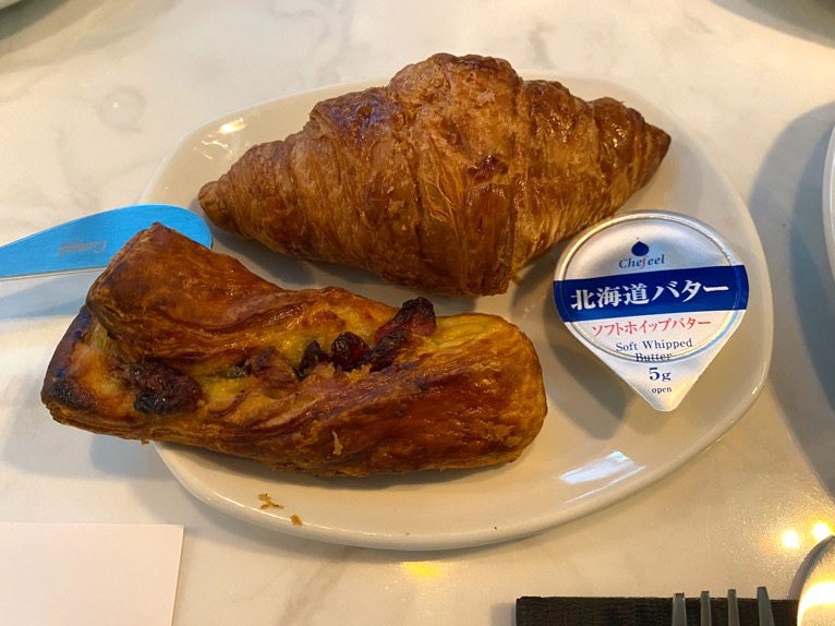 アロフト東京銀座の朝食「いただいたもの」:パン