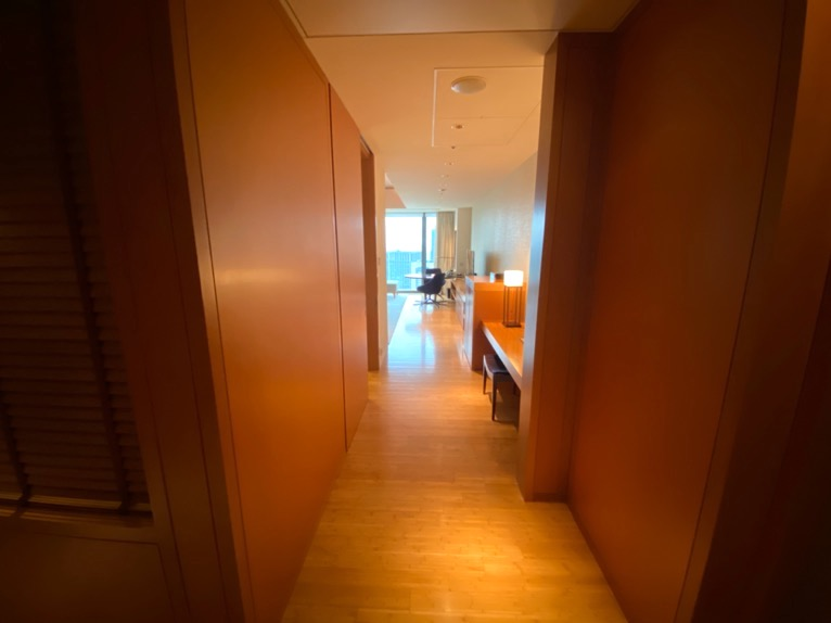マンダリンオリエンタル東京「客室」:廊下