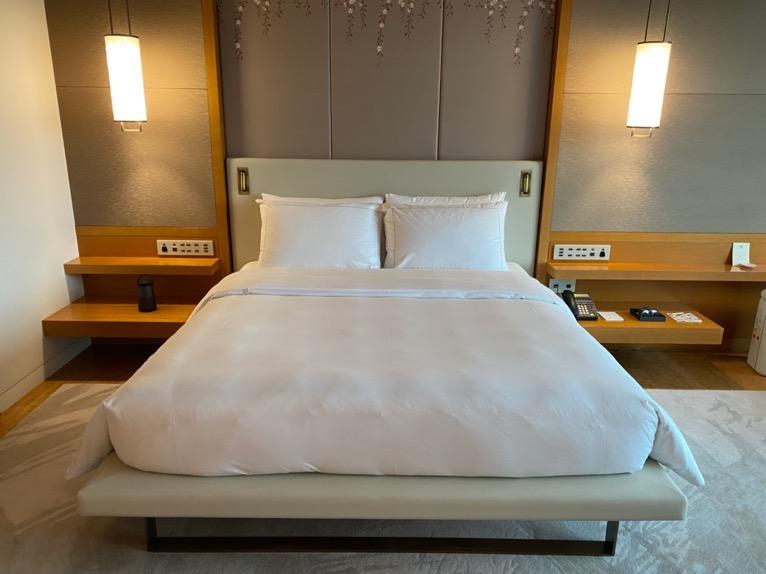 マンダリンオリエンタル東京「客室」:ベッド