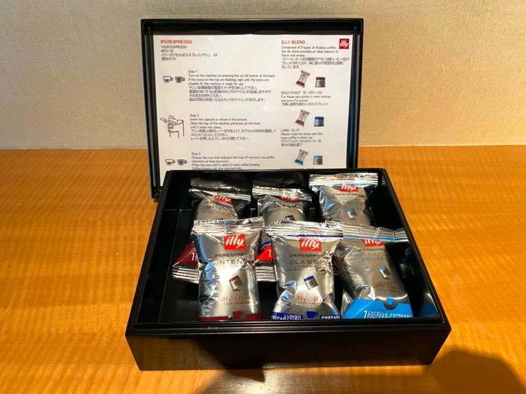 マンダリンオリエンタル東京「客室」:コーヒー豆