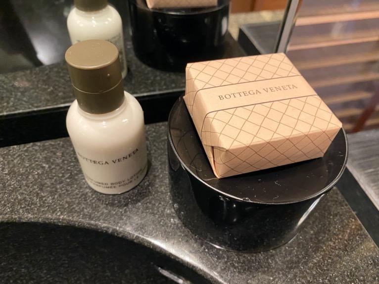 マンダリンオリエンタル東京「客室」:石鹸