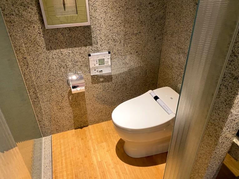 マンダリンオリエンタル東京「客室」:トイレ