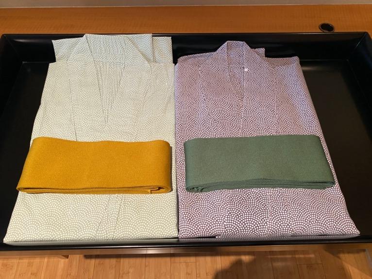 マンダリンオリエンタル東京「客室」:浴衣