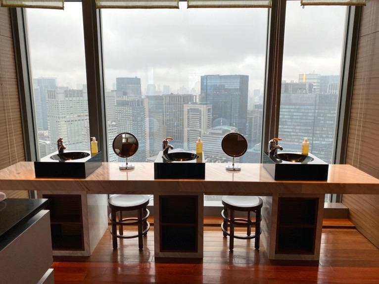 マンダリンオリエンタル東京の大浴場とサウナ、ジムをブログレポート