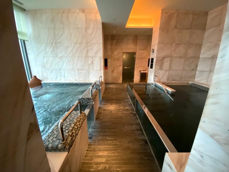 マンダリンオリエンタル東京の温浴施設:大浴場(全体像)
