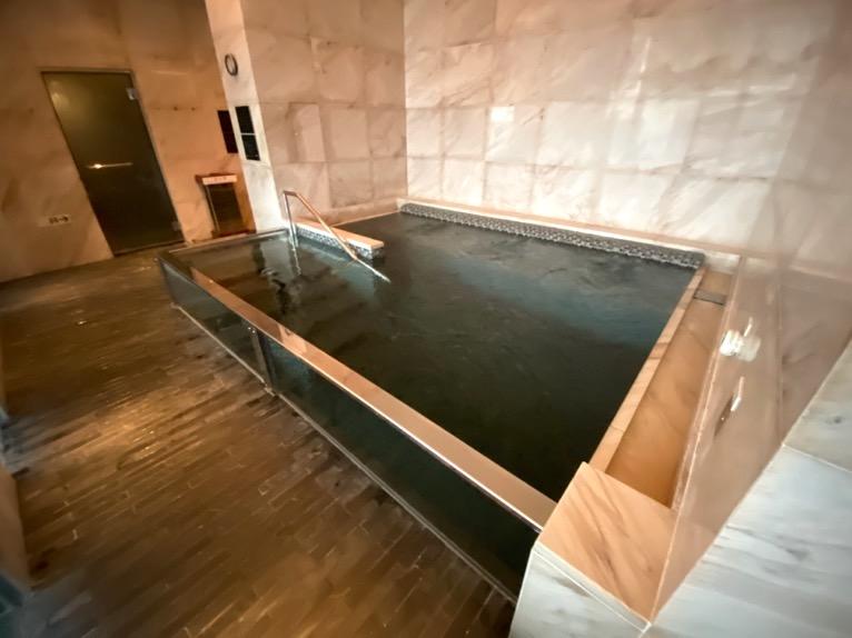 マンダリンオリエンタル東京の温浴施設:大浴場(ホットバス2)