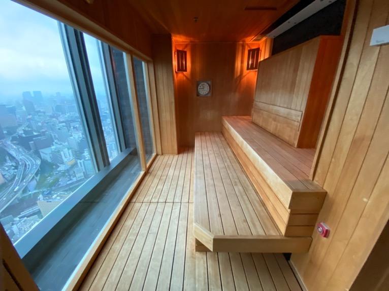 マンダリンオリエンタル東京の温浴施設:大浴場(サウナ2)