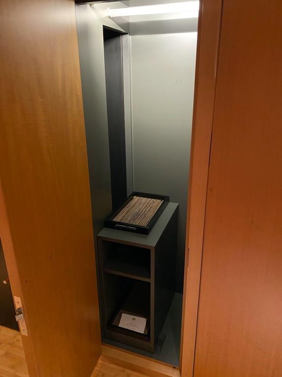 マンダリンオリエンタル東京「客室」:バレットボックス