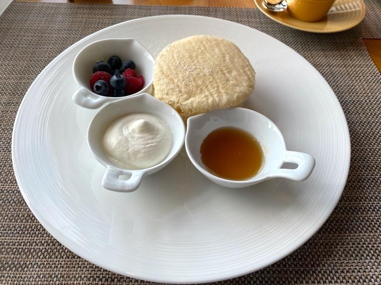 マンダリンオリエンタル東京の朝食:マンダリンオリエンタル東京 パンケーキ