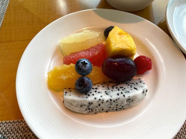 マンダリンオリエンタル東京の朝食:季節のフルーツ