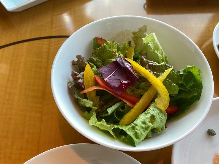マンダリンオリエンタル東京の朝食:サラダ