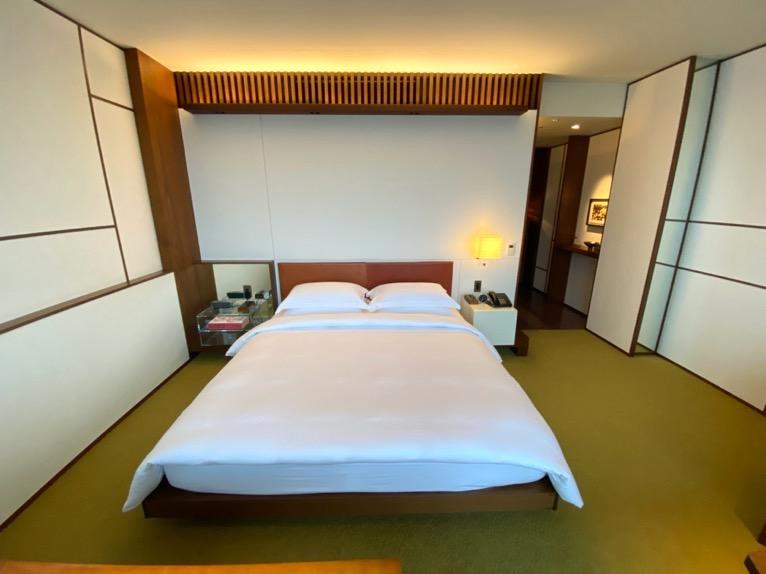 アンダーズ東京「客室」:ベッド