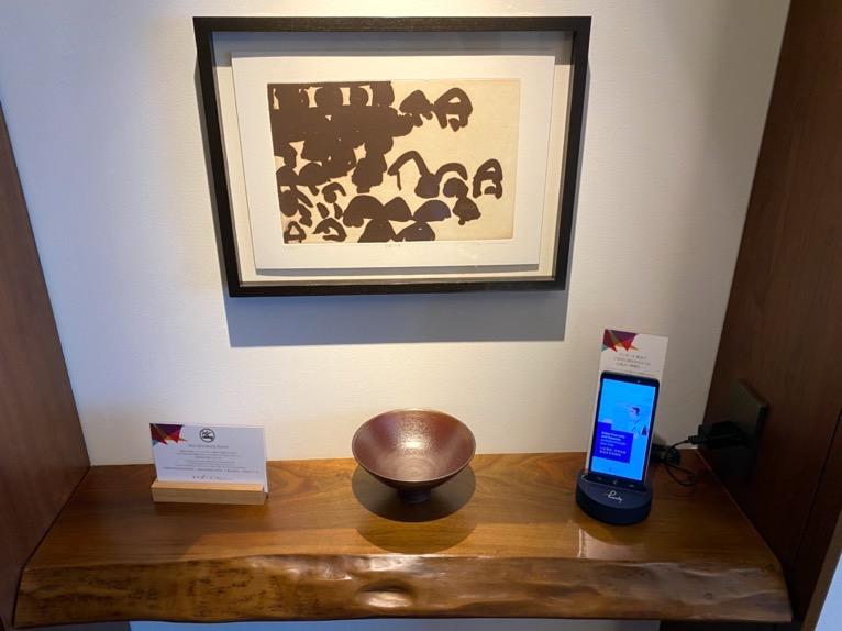 アンダーズ東京「客室」:飾り棚