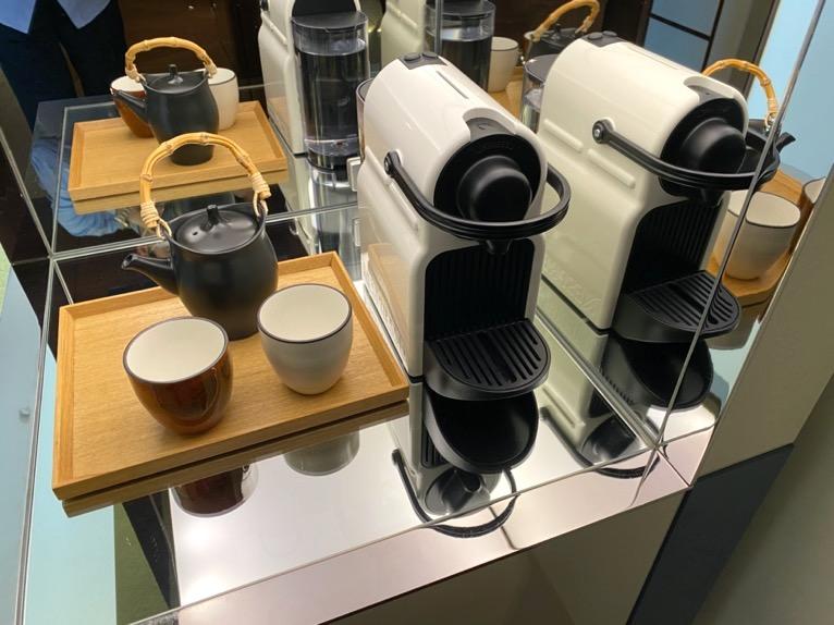 アンダーズ東京「客室」:コーヒーメーカー