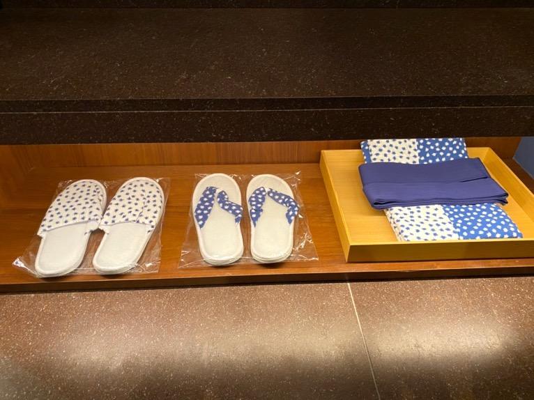 アンダーズ東京「客室」:浴衣