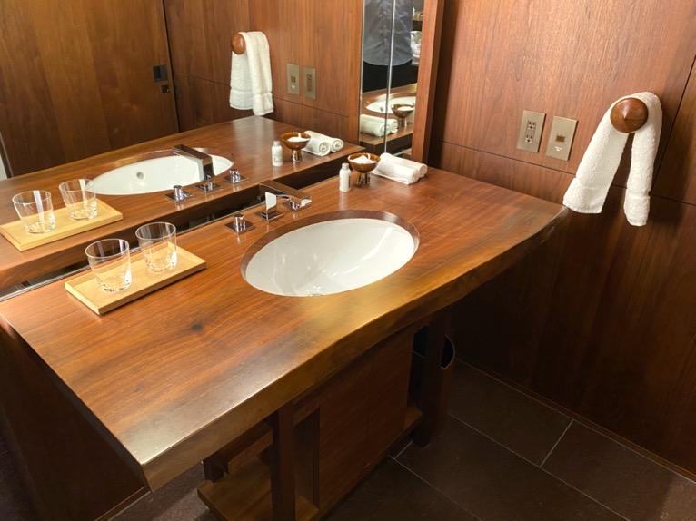 アンダーズ東京「客室」:洗面台