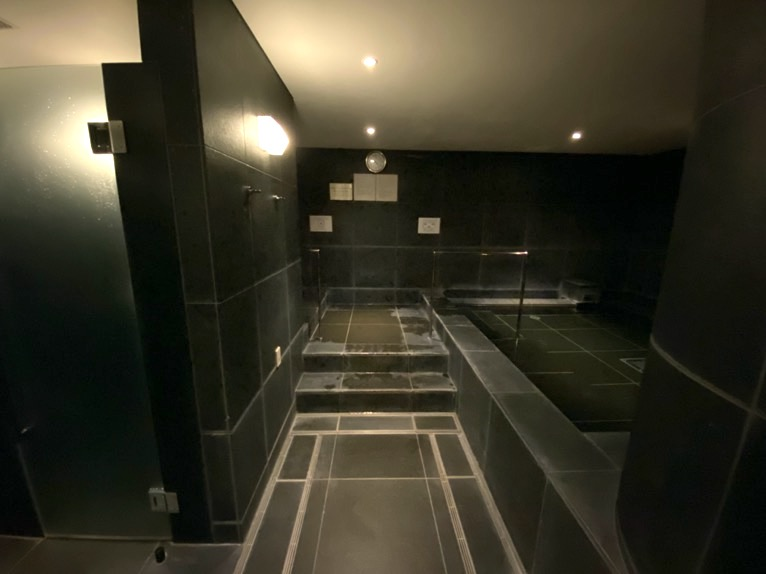 アンダーズ東京「AOスパ&クラブ」:温浴施設(バス)