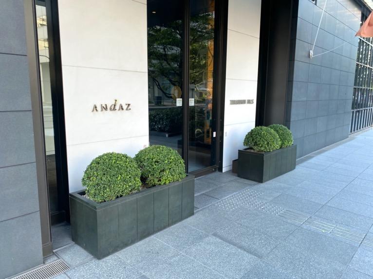 アンダーズ東京:ホテルのエントランス1