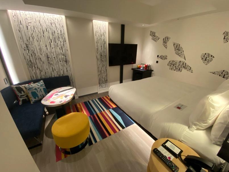 客室の全体像:別の客室タイプの場合