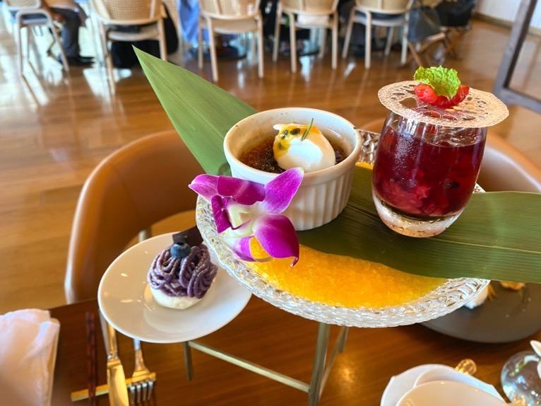 ハレクラニ沖縄のアフタヌーンティー&ランチ、ディナーをブログレポート