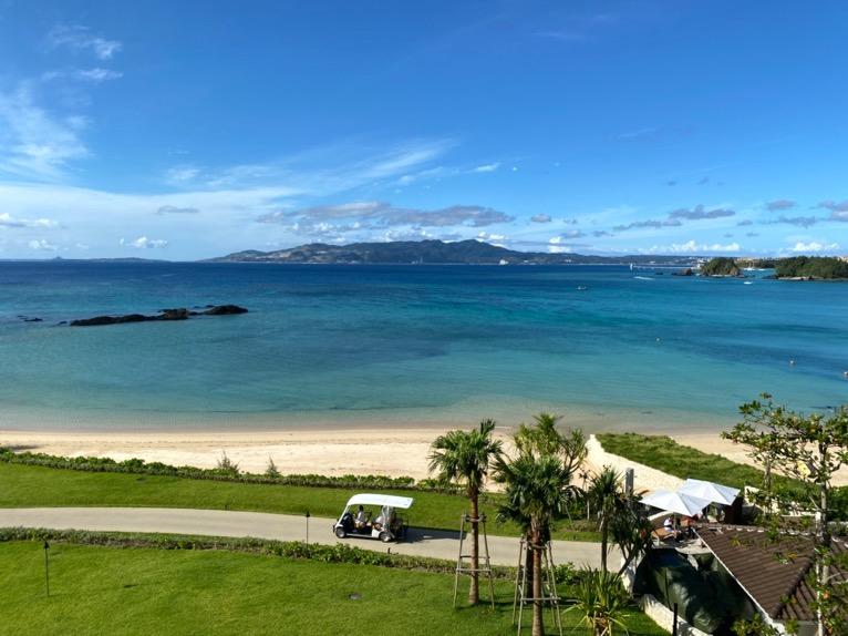 ハレクラニ沖縄「眺望」:オーシャンビュー