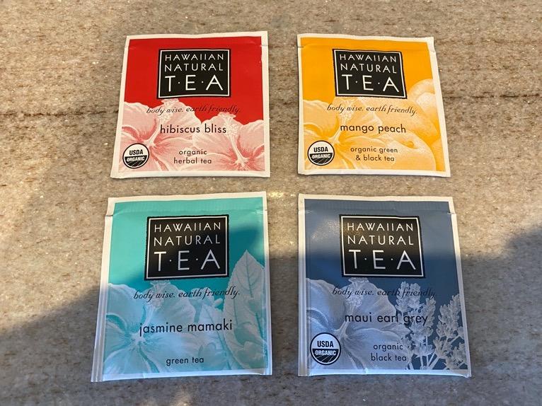 ハレクラニ沖縄「ミニバー」:紅茶