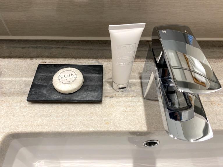 ハレクラニ沖縄「バスルーム」:石鹸&乳液