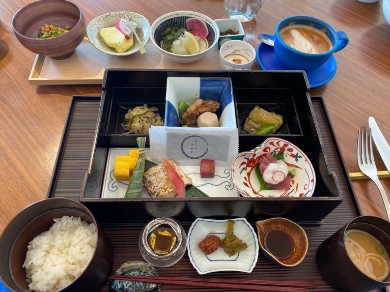 ハレクラニ沖縄「ハウスウィズアウトアキー」:和食セットの内容(フード1)