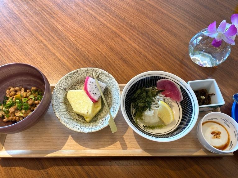 ハレクラニ沖縄「ハウスウィズアウトアキー」:和食セットの内容(フード3)