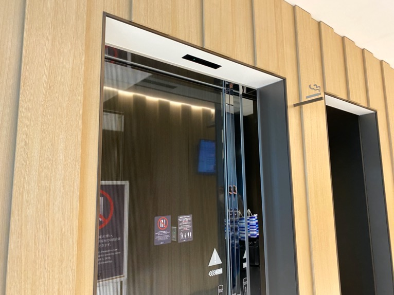 那覇空港ANAラウン:喫煙コーナー