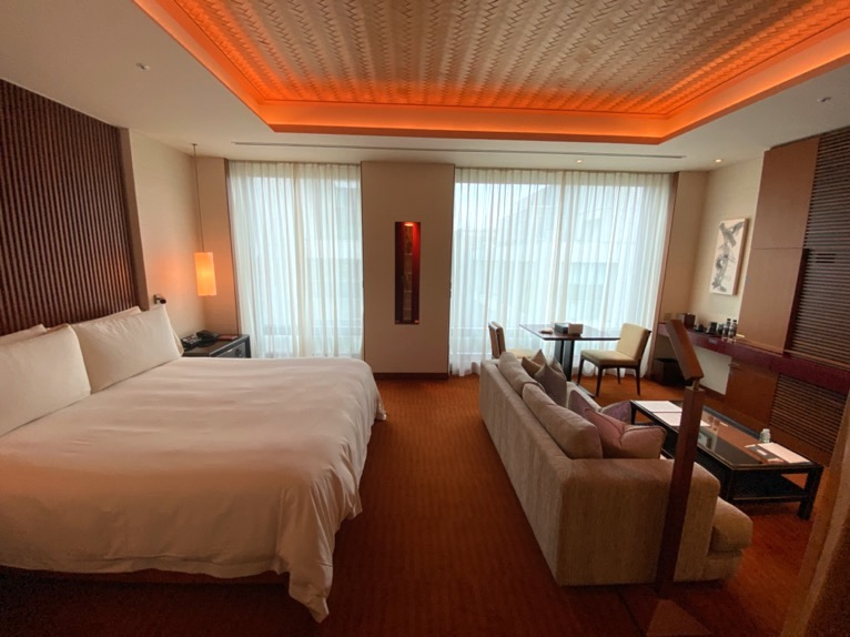 ザ・ペニンシュラ東京「客室」:寝室