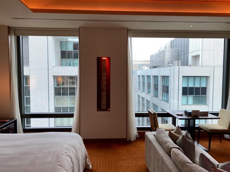 ザ・ペニンシュラ東京「客室」:窓
