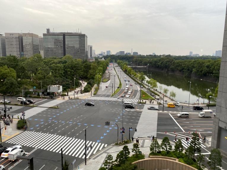 ザ・ペニンシュラ東京のプールとジム、サウナ:眺望(テラス席)
